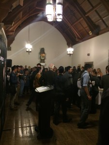 Hart House reception after the taping
