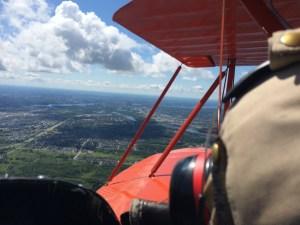Ottawa Biplane over Gatineau