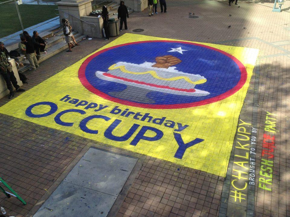 Occupy 1 year birthday