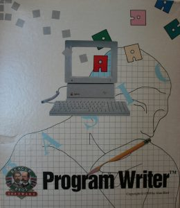 Program Writer box