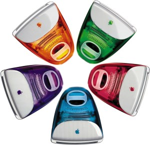 iMac Five colours