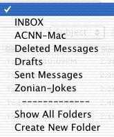 Folders Menu