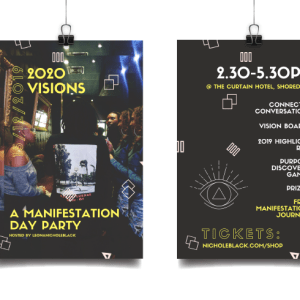 2020 VISIONS: MANIFESTATION DAY PARTY