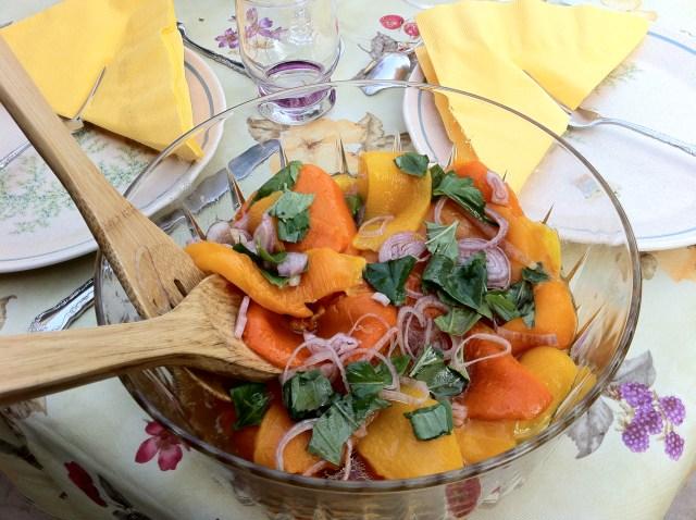 Mediterranean Sea Breeze – Sweet Pepper Salad