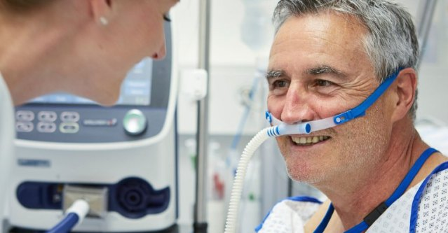 COVID and High Flow Oxygen Treatment