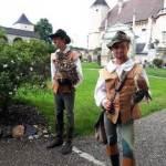 Greifvogelshow in der Rosenburg