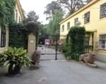 Eingang zum Pötzleinsdorfer Schlosspark