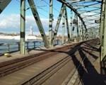 Bahnbrücke Handelskai