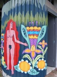 Mullumbimby Community Garden Mural