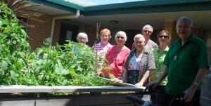 The St Joseph's garden group