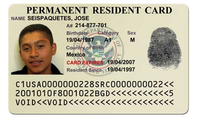 Fake Green Card