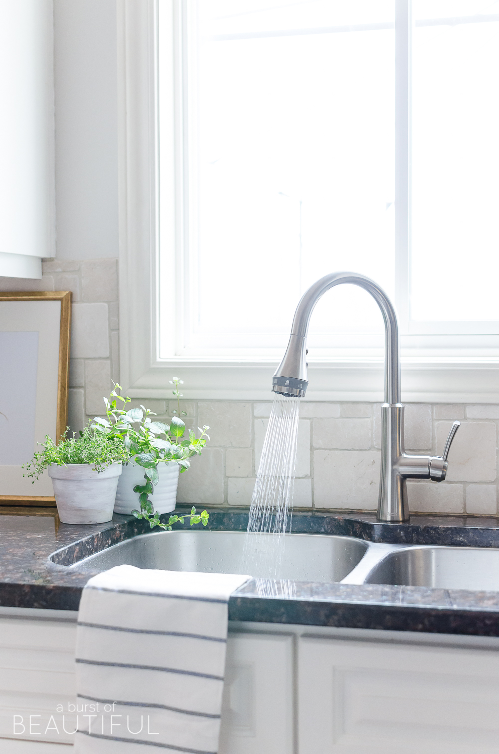 a new faucet for our modern farmhouse