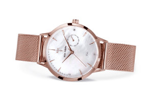 Nick Cabana Nilaya Chic womens watch rose gold with dial of Mother of pearl