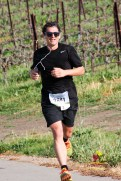 Nick Cernak running the Livermore Half Marathon on 3/28/15