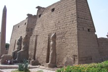 Luxor Temple entrance