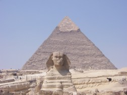 Sphinx and Pyramid view