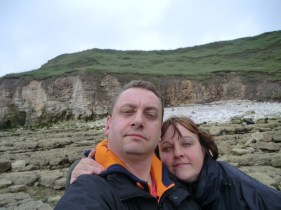 Me and Sam at Thornwick