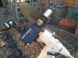 Coronado PST with Philips SPC900 webcam
