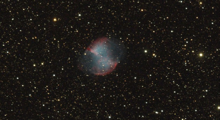 M27 The Dumbbell Nebula