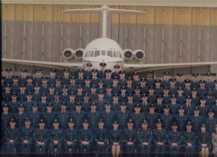 Aircraft Engineering Squadron 1992 RAF Brize Norton. VC10 aircraft