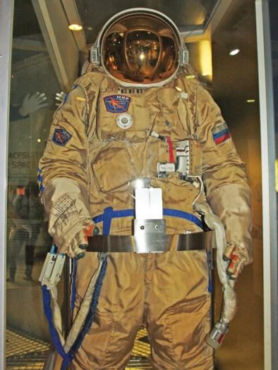 Russian Orlan DMA EVA spacesuit.