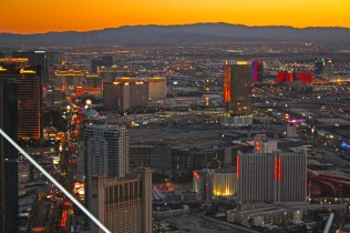 View from Stratosphere Observation Tower