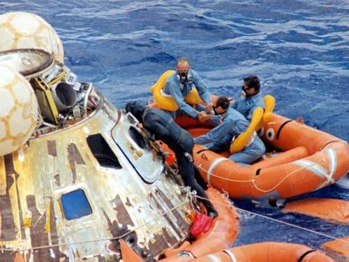 Apollo 12 splashdown