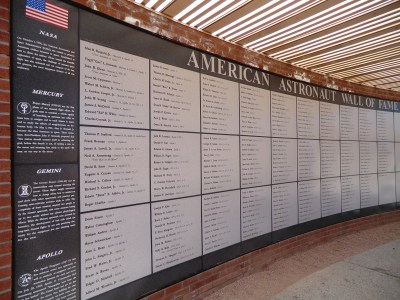 American Astronauts Wall of Fame at Meteor Crater