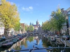 Towards the Church of St Nicholas, Amsterdam.