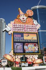 Circus Circus Hotel. Looks old and outdated