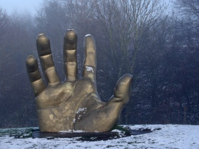 Clipstone Golden Hand