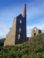 Mine building between St Just and Zennor.