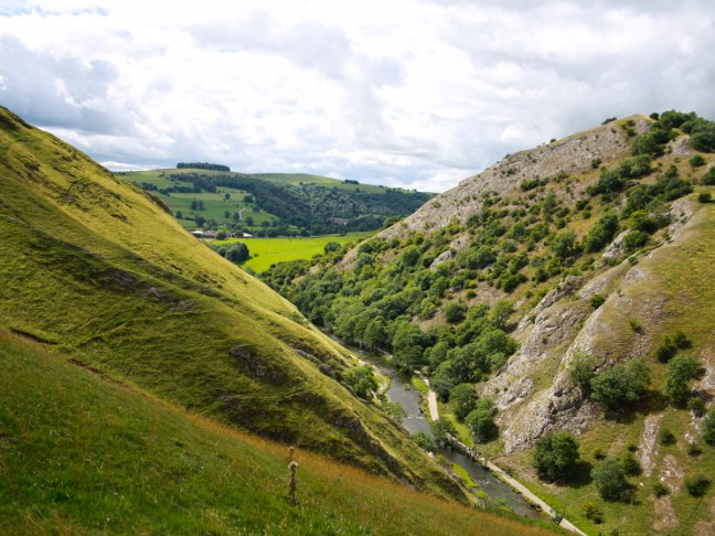 Dovedale from Thorpe Cloud