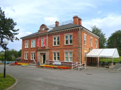 Durban House - DH Lawrence Heritage Centre. Built in 1876 for the Barber Walker mining company