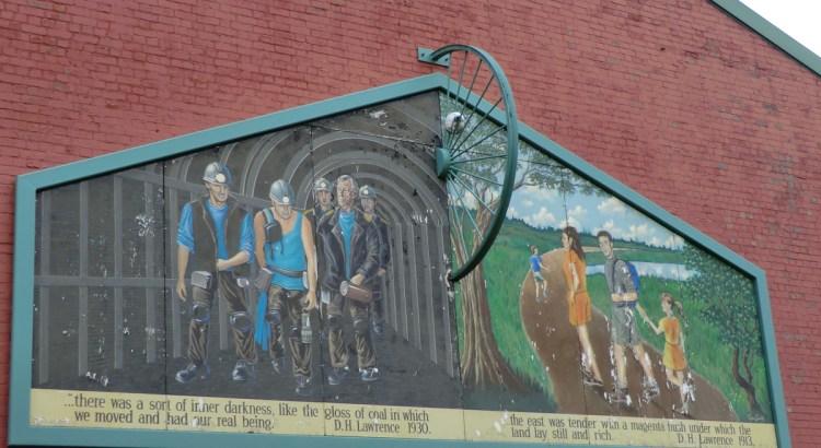 Engine Lane Mural at Eastwood