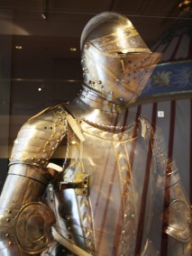 Engraved armour