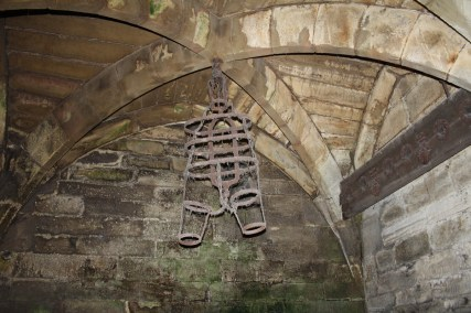 A Gibbet in Caesar's tower dungeon.