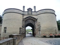 Nottingham Castle Gatehouse. Almost the only part that is still visibly castle like. After the English Civil War ended, parliament ordered the castles destruction.