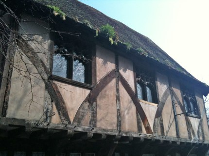 Formerly the Lace Centre. A 15th century timber framed building.