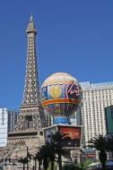 Paris hotel on the strip in Las Vegas.