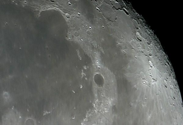 Mare Imbrium, Crater Plato and Sinus Iridum