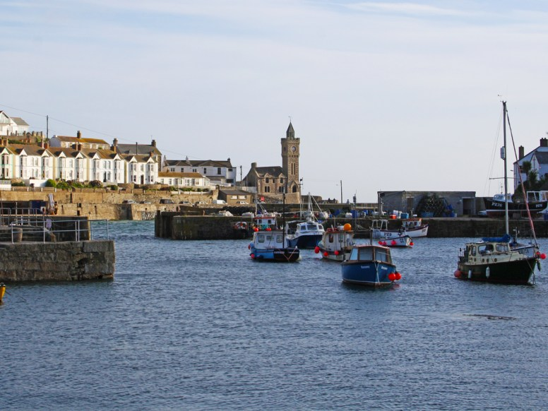 Portleven inner harbour