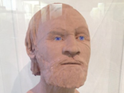 Facial reconstruction of Repton Viking Warrior