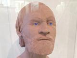Facial reconstruction of Repton Viking Warrior