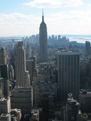 Empire State from Rockefeller Center