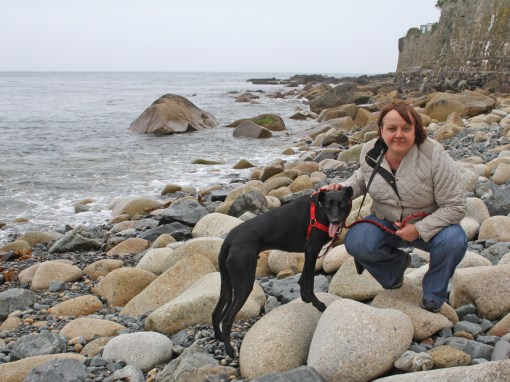 Sam and Nelson at Mousehole