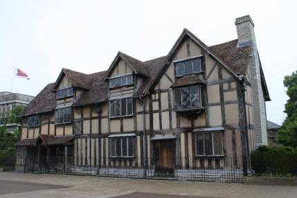 William Shakespeare's birthplace on Henley Street