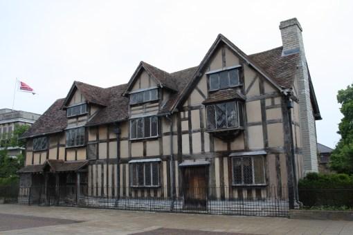 William Shakespeare's birthplace on Henley Street