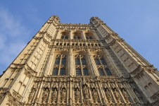 overeign's Entrance, Victoria Tower, Palace of Westminster.