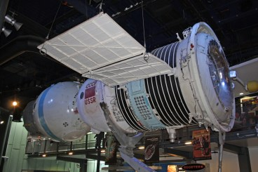 Soyuz is the longest serving manned spacecraft. it is designed to carry three astronauts into low Earth orbit.